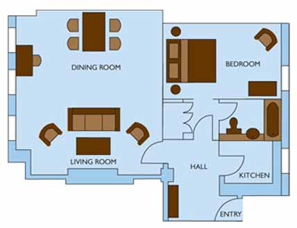One Bedroom Premium Residence